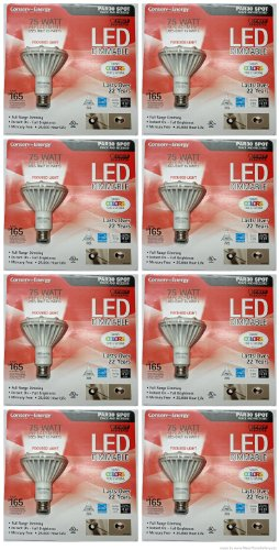 Feit Electric Conserv-Energy Dimmable Par30 Led 15 Watts Light Bulb - 75 Watt Equivalent Replacement- (8 Pack)