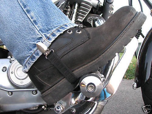 Streetbike Motorcycle Pants Holding Clamps Straps Clips Holder Ryder Leg Stirrups Fully Adjustable Harley Davidson Pants Clip Holders