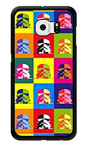 """Humor Gang Retro Alien Printed Designer Mobile Back Cover For """"Samsung Galaxy S6"""" (3D, Glossy, Premium Quality Snap On Case)"""