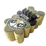 2.2Ah NiCd Replacement Internals: 18V RIDGID Battery 130254003 | 130254007 | 130254011