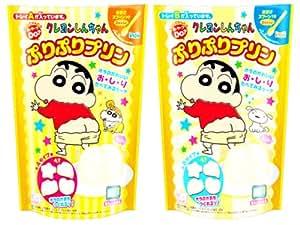 しんちゃんぷりぷりプリン 6個入り BOX (食玩・製菓材料)