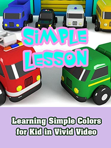 Learning Simple Colors for Kid in Vivid Video on Amazon Prime Video UK