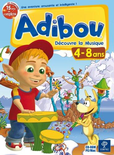 Adibou decouvre la musique - 4-8 ans  (vf - French software)