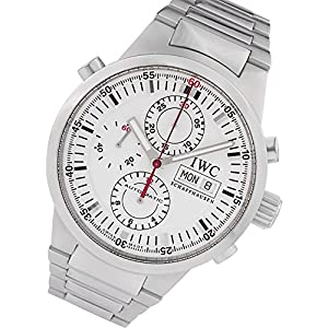 IWC GST Rattrapante automatic-self-wind white mens Watch IW3715 (Certified Pre-owned)