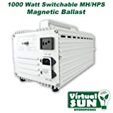 Virtual Sun VS1000WMB 1,000-Watt Magnetic Grow Light Ballast