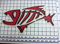 "Large 15"" Carpet Graphic Fish Decal Stickers for Bass Fishing from JB Company"