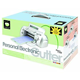 Cricut  Personal Electronic Cutter  with 2 Cartridges