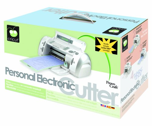 Cricut Personal Electronic Cutter, Bundle With