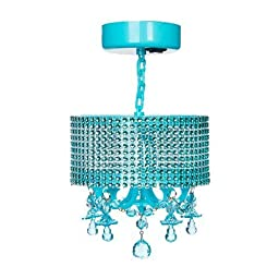 LockerLookz Locker Gem Lamp - Aqua Blue - 1 piece