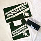 NCAA Michigan State Spartans 15 Piece Collegiate Bath Set Rugs