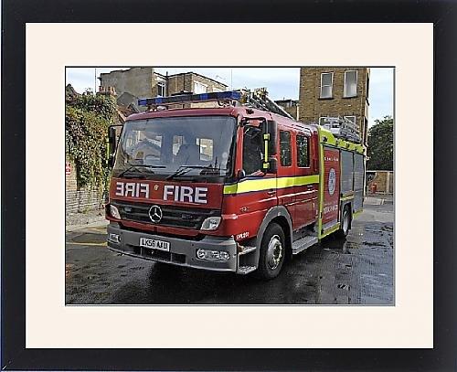 Framed Print Of New Training Appliance. Southwark Training Centre front-563593