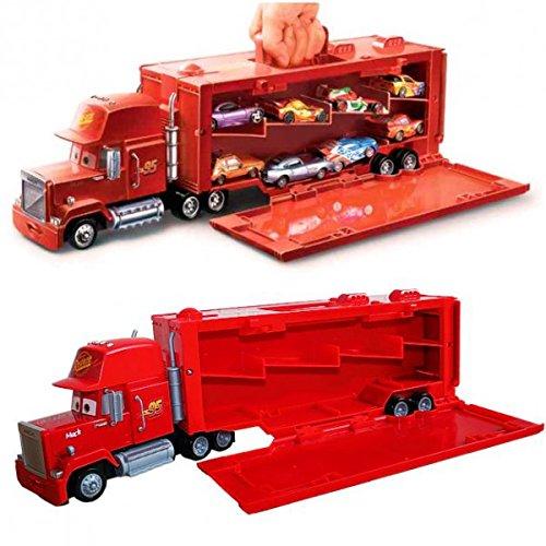 disney cars 2 mack truck camion transporteur tronco del veicolo. Black Bedroom Furniture Sets. Home Design Ideas