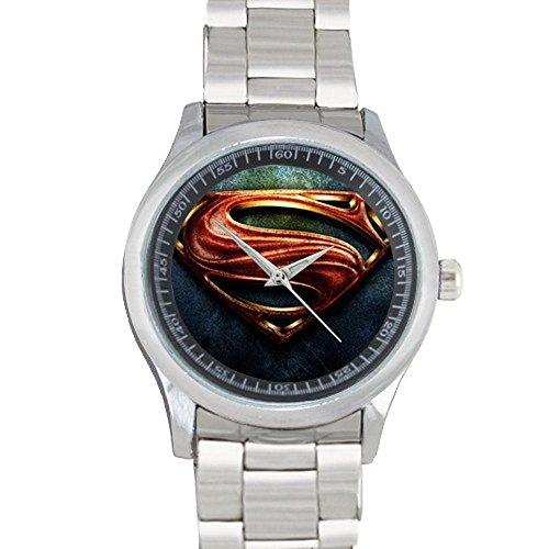 brand-wristwatch-superman-logo-grapefruit-custom-metal-watch-40mm-dia-stainless-band