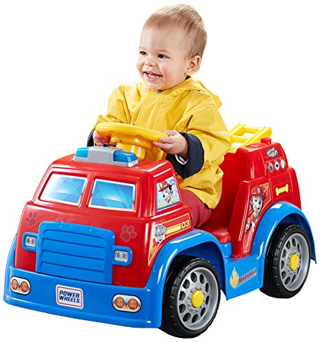 Fisher-Price Power Wheels Nickelodeon PAW Patrol Fire Truck (Powerwheels Trucks compare prices)