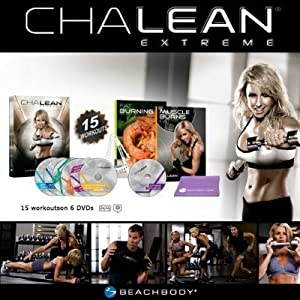 ChaLEAN EXTREME Workout DVD Program: Burn Fat, Boost Your Metabolism & Get Lean