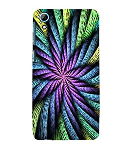 ABSTRACT INTERTWINED ROPES PATTERN 3D Hard Polycarbonate Designer Back Case Cover for HTC Desire 826 :: HTC Desire 826 Dual Sim :: HTC Desire 826 DS (GSM + CDMA)