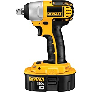 "DEWALT DC820KA 1/2"" (13mm) 18V Cordless XRP Impact Wrench Kit from DEWALT"