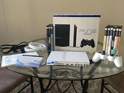 Playstation 2 Console Slim - Ceramic White (Ps2 Console compare prices)