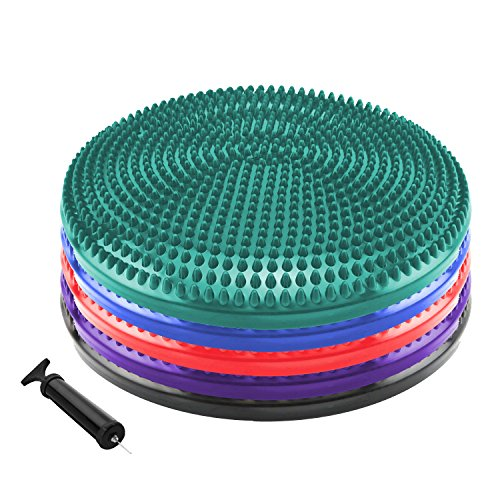 Read About Stability Balance Disc - Fledo Wobble / Wiggle Air Cushion Seating Disk - Core Strength T...