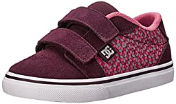 DC Anvil V Youth Vulcanized Shoes Skate Shoe (Toddler/Little Kid/Big Kid), Purple/White, 8 M US Toddler