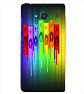 PRINTSWAG COLORFUL SPEAKER Designer Back Cover Case for XIAOMI REDMI 2S