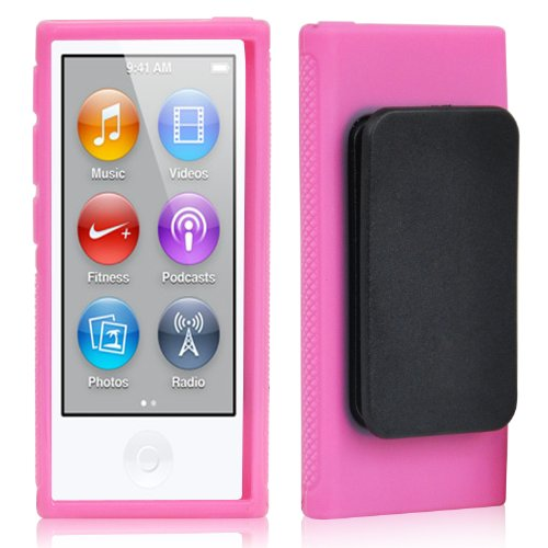 trixes-pink-tpu-clip-gel-case-for-new-apple-ipod-nano-7th-generation-cover-shell