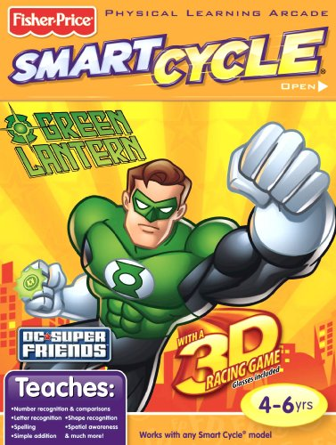 Fisher Price SmartCycle 3D Software - Superfriends Green Lantern - 1