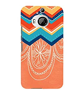 EPICCASE dotted sketch Mobile Back Case Cover For HTC One M9 Plus (Designer Case)