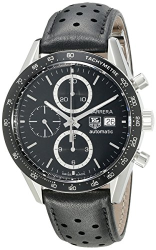 stainless-steel-carrera-automatic-black-dial-chronograph-strap