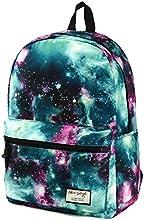 HotStyle - Sac à dos multi-fonction - Voyages, scolaire, loisirs - Peut contenir un ordinateur portable jusqu'à 15 pouces et une tablette - Bleu galaxy