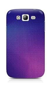 Amez designer printed 3d premium high quality back case cover for Samsung Grand Neo Plus (Pattern purple color)