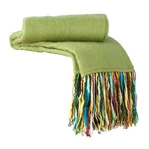 Shiraleah Fab Throw Blanket, Green