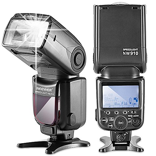 Neewer-NW910MK910-i-TTL-18000s-HSS-LCD-Display-Speedlite-MasterSlave-Flash-for-Nikon-D60-D70-D70S-D80-D80S-D300S-D700-D3000-D3100-D5000-D5100-D7000-D7100-D7200-and-Other-Nikon-DSLR-Cameras