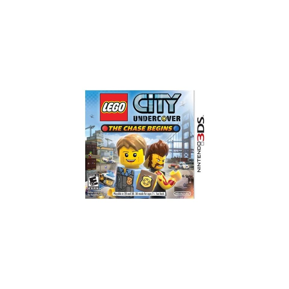 Nintendo CTRPAA8E LEGO City Undercover The Chase Begins for Nintendo 3DS   NEW   Retail   CTRPAA8E Computers & Accessories