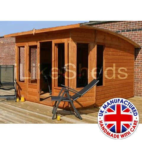 10FT x 10FT HELIOS SUMMERHOUSE