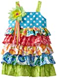 Rare Editions Girls 2-6X Mixed Print Tiered Dress