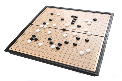 Azerus Jeu de Go: jeu de stratégie, kit de voyage avec plateau de jeu magnétique DE 3812