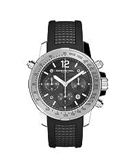 Raymond Weil Men's 7800-SR-105207 Nabucco Black Chronograph Dial Watch
