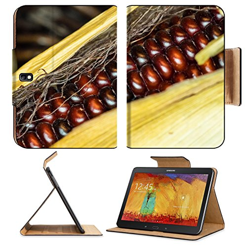 Samsung Galaxy Tab Pro 10.1 Tablet Flip Case Flint corn Zea mays indurata has a hard outer layer to protect the soft endosperm IMAGE 34600685 by MSD Customized Premium Deluxe Pu Leather generation Acc (Flips Corn compare prices)