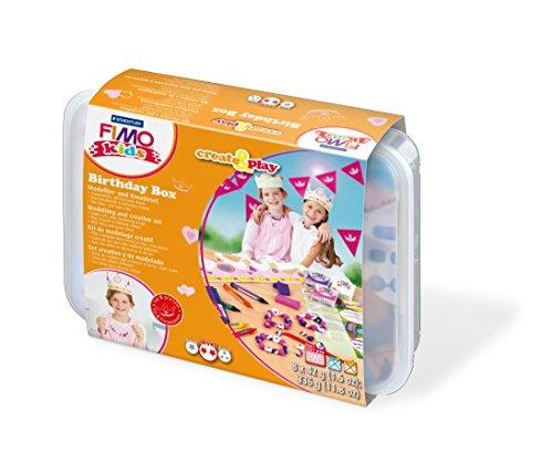 Staedtler 8033 04 - Fimo kids Create and Play Birthday Box Princess