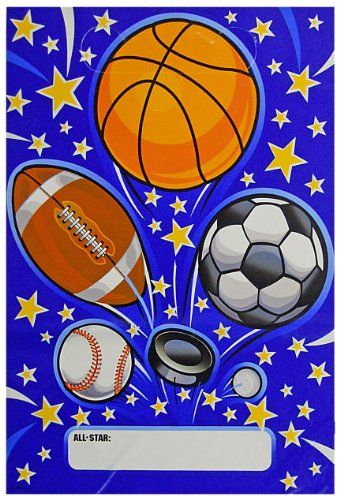 Sports Explosion Loot Goodie Bags - 8pk. - 1