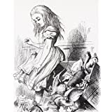 Alice with the animals, by John Tenniel (V&A Custom Print)