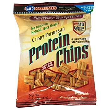 Set A Shopping Price Drop Alert For Kay's Naturals Protein Chips, Crispy Parmesan, 1.2-Ounce Bags (Pack of 12)