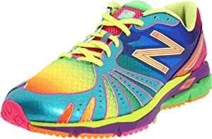 New Balance Men's 890 Rainbow Running Shoe,Green,11 D US