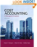 Cost Accounting, 14/e