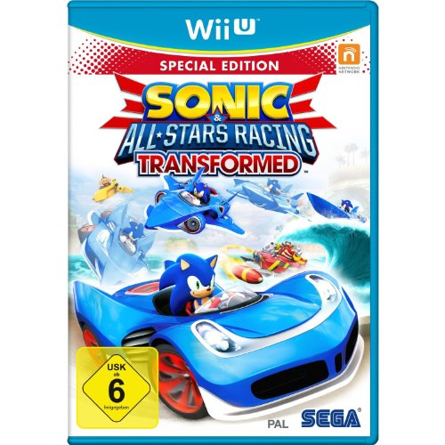 Sonic All - Stars Racing Transformed - Special Edition - [Nintendo Wii U]