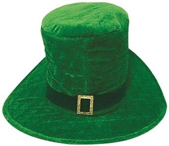 Jacobson Hat Company Men's Velvet Oversize St Pats Hat, Green, One Size