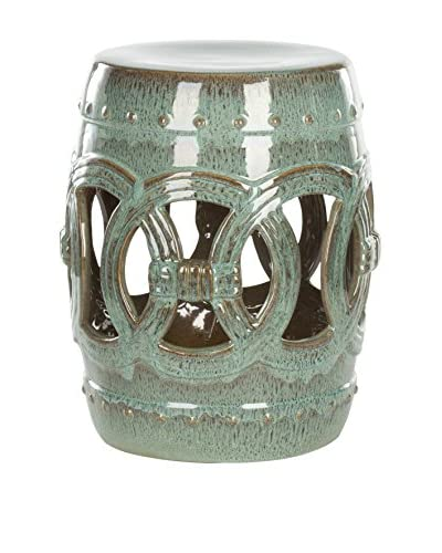 Safavieh Ceramic Double Coin Stool