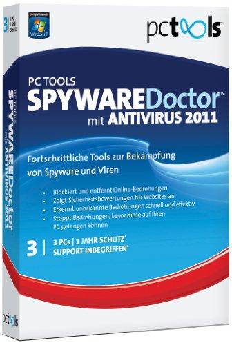 PC TOOLS SPYWARE Doctor WITH ANTIVIRUS 2011 3 PC, PC