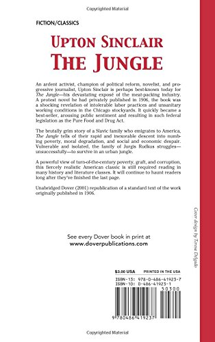 The Jungle (Dover Thrift)